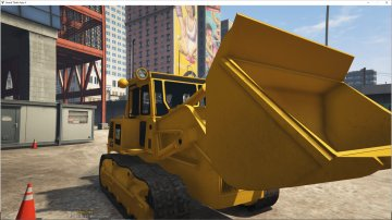 Machine Chantier Caterpillard - GTA5