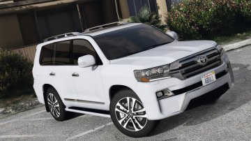 Toyota Land Cruiser VXR 2016 [Add-On / Replace]
