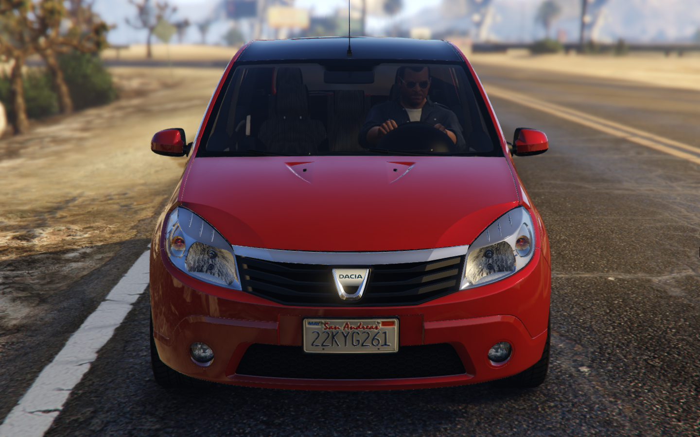 dacia sandero 2008 vehicules pour gta v sur gta modding. Black Bedroom Furniture Sets. Home Design Ideas