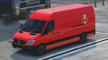 Mercedes Sprinter 2013 Cargo Delivery - GTA5