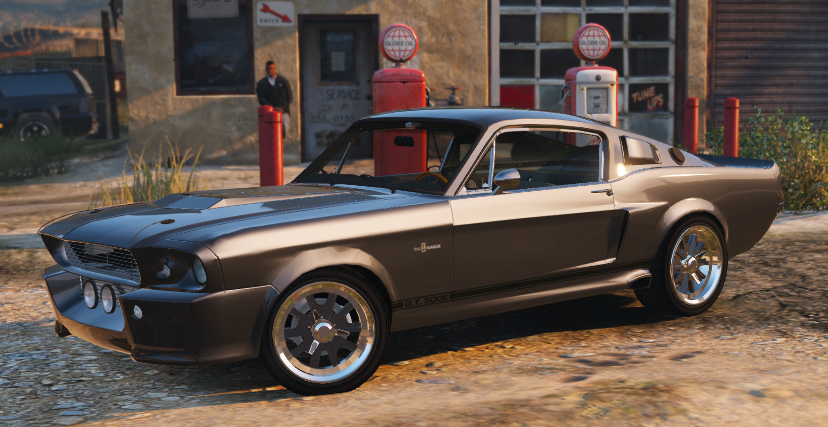shelby gt500 eleanor add on vehicules pour gta v sur gta modding. Black Bedroom Furniture Sets. Home Design Ideas