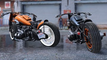 BMW R-75 Bobber [Animated | Replace] - GTA5