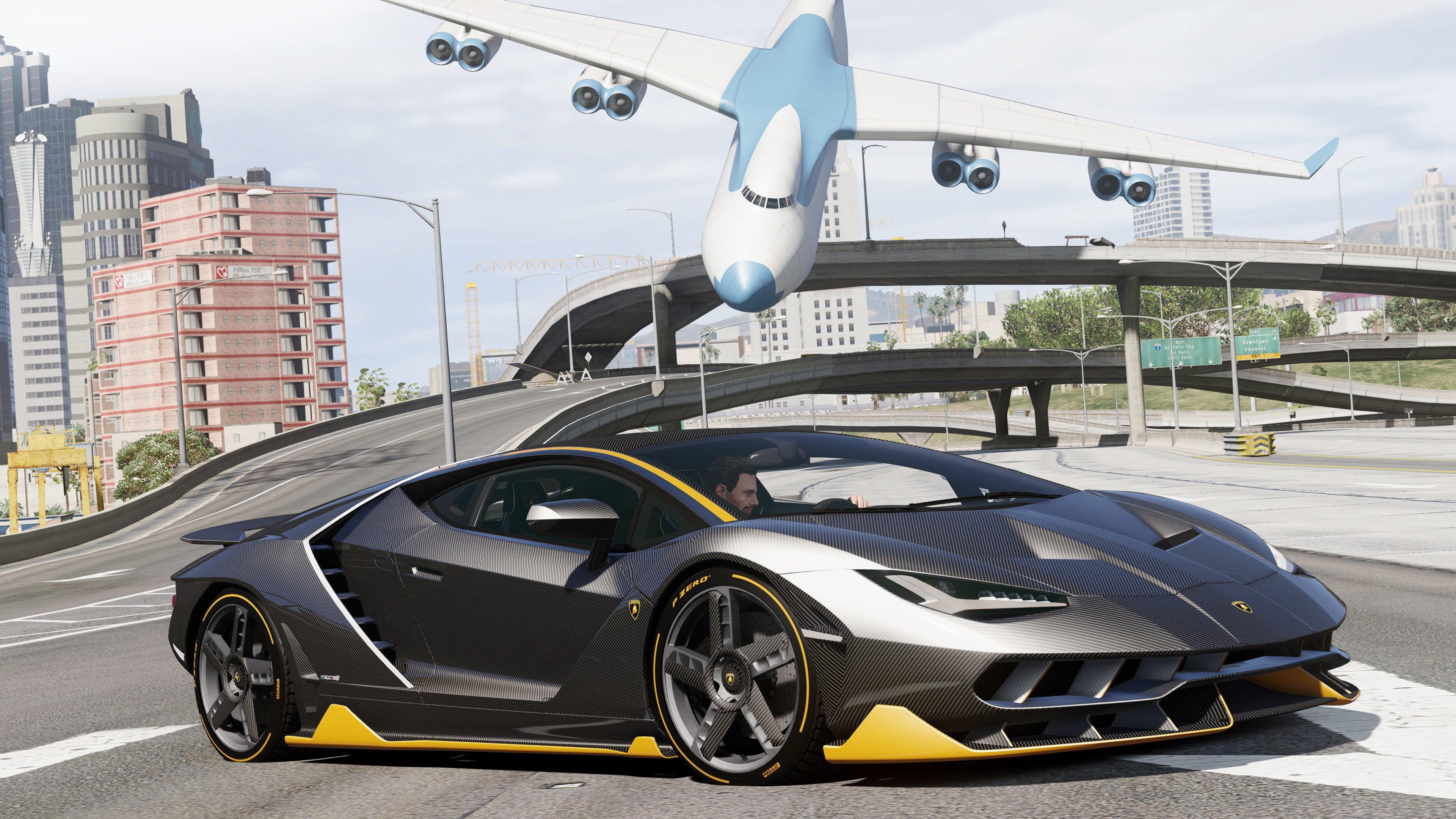 Lamborghini centenario lp 770 4 2017 add on replace vehicules pour gta v sur gta modding