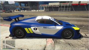 Renault Sport RS Gendarmerie [Add-on/Replace] - GTA5