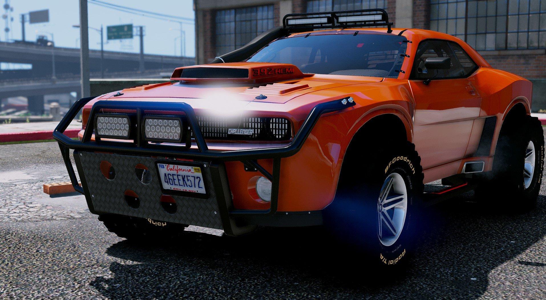 Dodge Challenger Raid Add On Vehicules Pour Gta V Sur Gta Modding