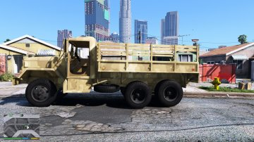 M35A2 6x6 2 1/2 Ton Truck [Replace] - GTA5