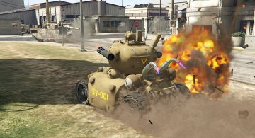 Metal Slug SV-001 [Add-On] - GTA5