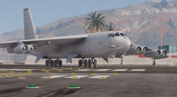 B-52H Stratofortress Heavy Bomber [Add-On] - GTA5
