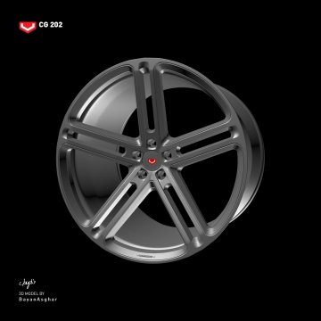 Vossen B-Rims Pack #2 (CG Series) [Add-On / Replace] - GTA5
