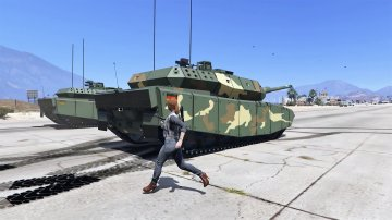 Leopard 2A7+ MBT [Add-On / Replace | HQ] - GTA5