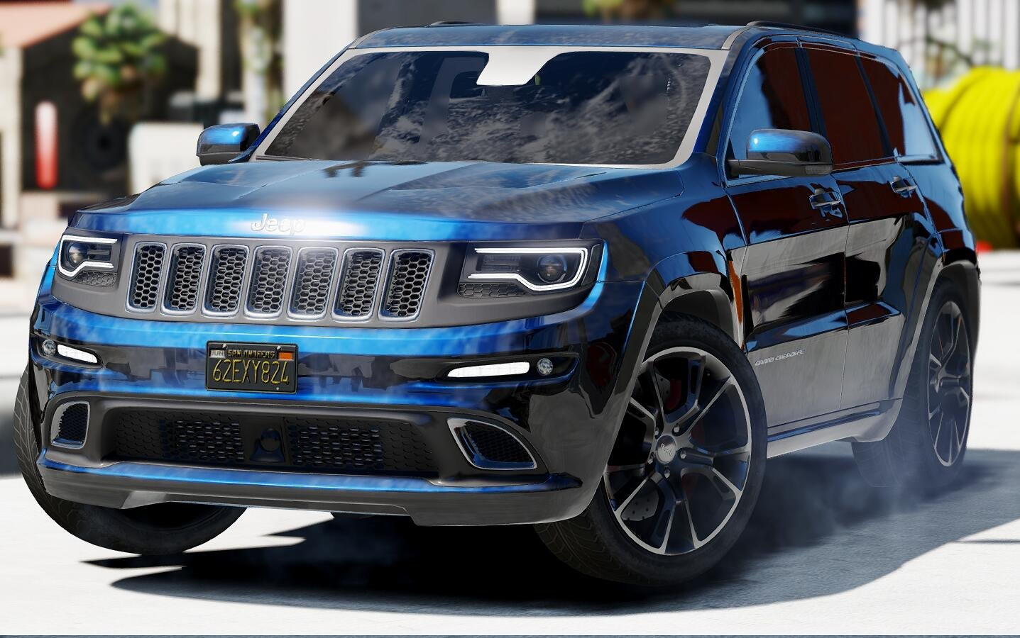 Jeep grand cherokee srt 2014 vehicules pour gta v sur - 2015 jeep grand cherokee led interior lights ...