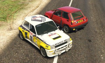 Renault 5 Turbo & Rally (2in1) [Add-On | Tuning | Livery]