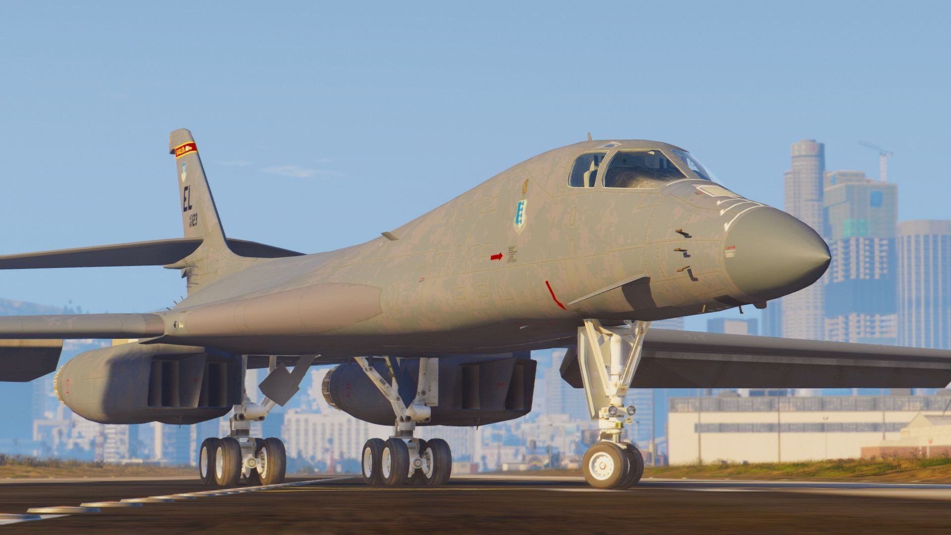B-1B Lancer with variable wings [Add-On] - GTA5