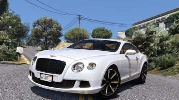 Bentley Continental GT 2014 [Add-On | HQ]