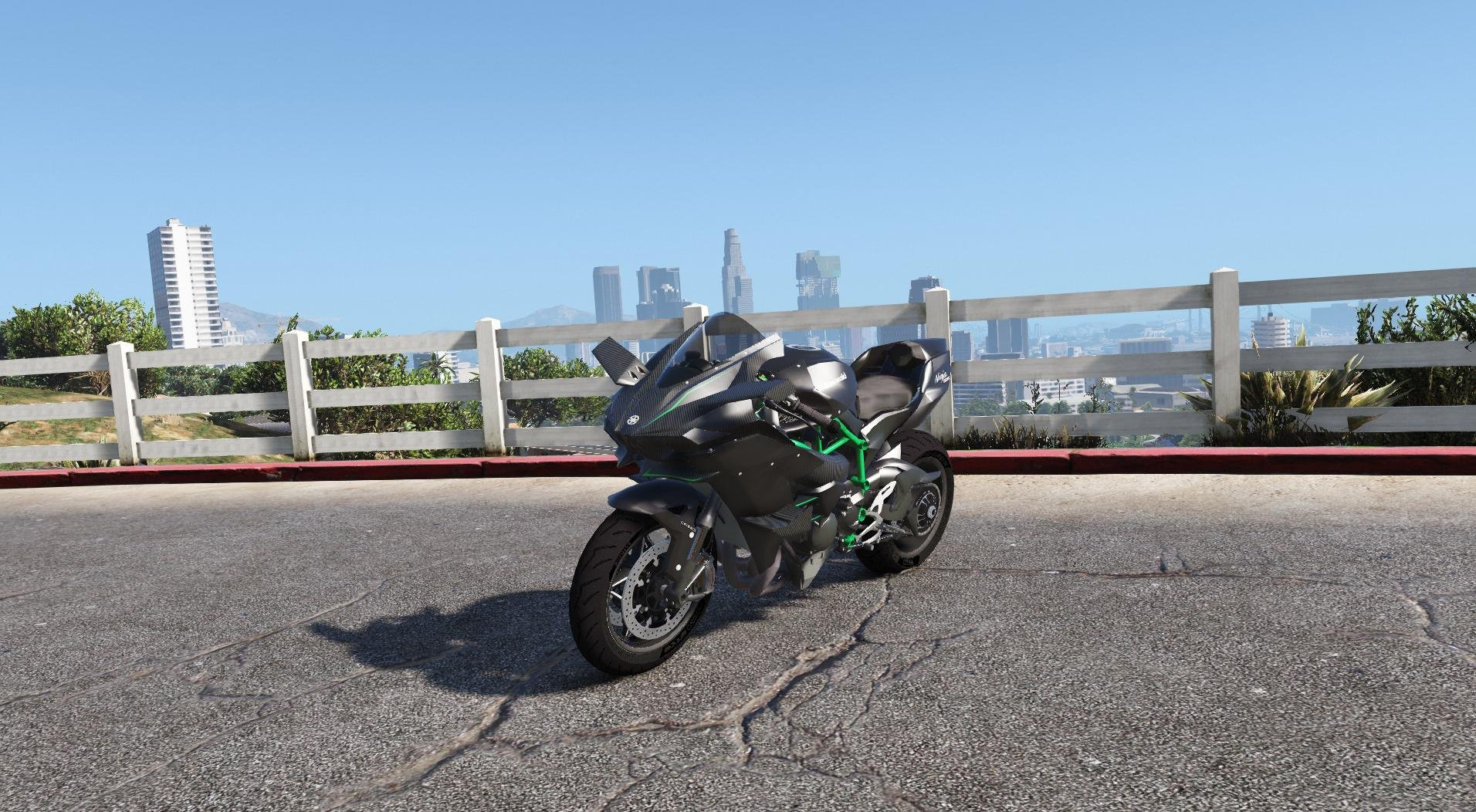 Kawasaki Ninja H2 & H2R [Add-On | Tunable] - GTA5
