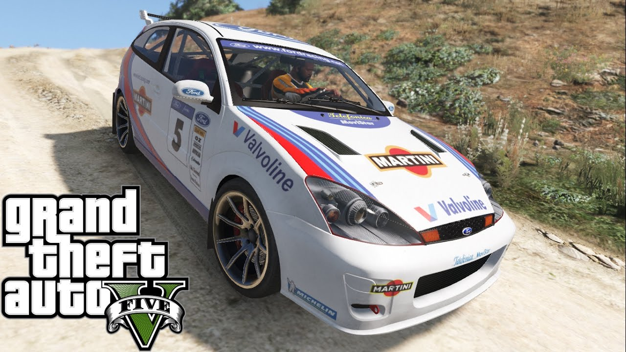 Ford Focus Svt Rally 2003 [Add-On + Tunings parts] - GTA5