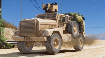 MRAP Cougar 4x4 [Add-On]
