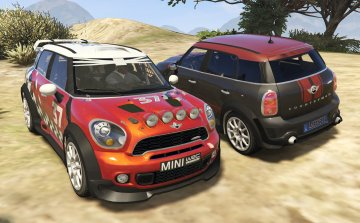 Mini Countryman & WRC (2in1) [Add-On / Replace | Tuning | Livery]