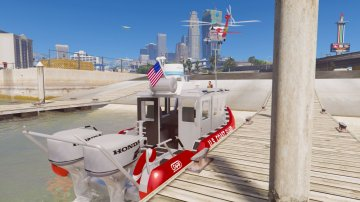 USCG Defender class [Add-On / Replace] - GTA5