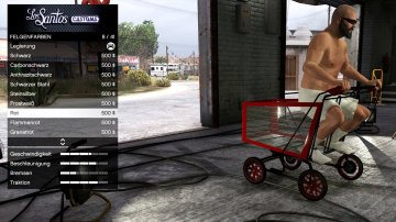 Shopping Cart - Fun Vehicle [Add-On / Replace]