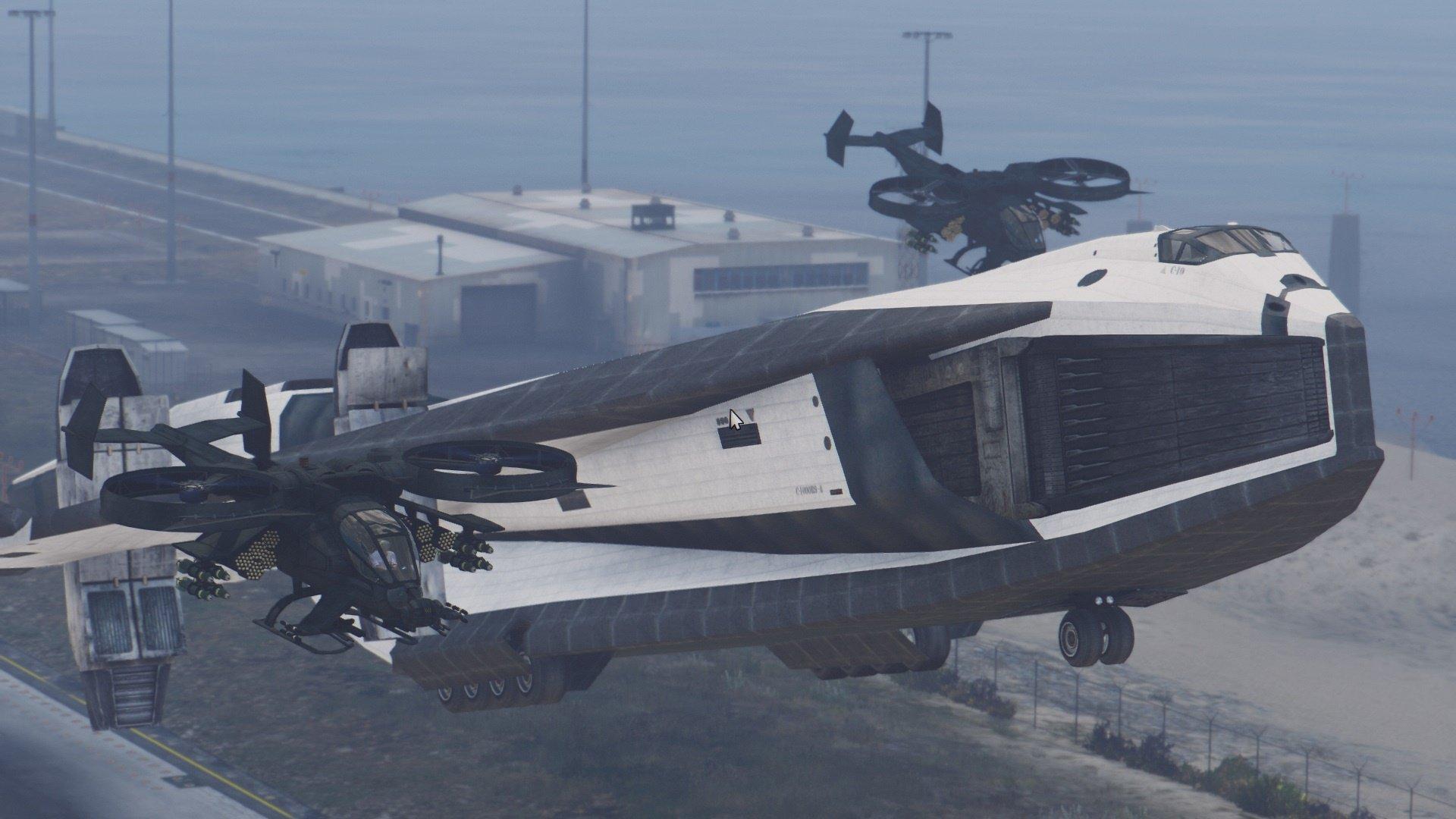tav37 valkyrie ssto shuttle from avatar addon