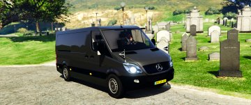 Mercedes-Benz Sprinter coroner hearse