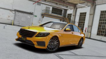 Mercedes-Benz S65 W222 [Add-On / Replace] - GTA5