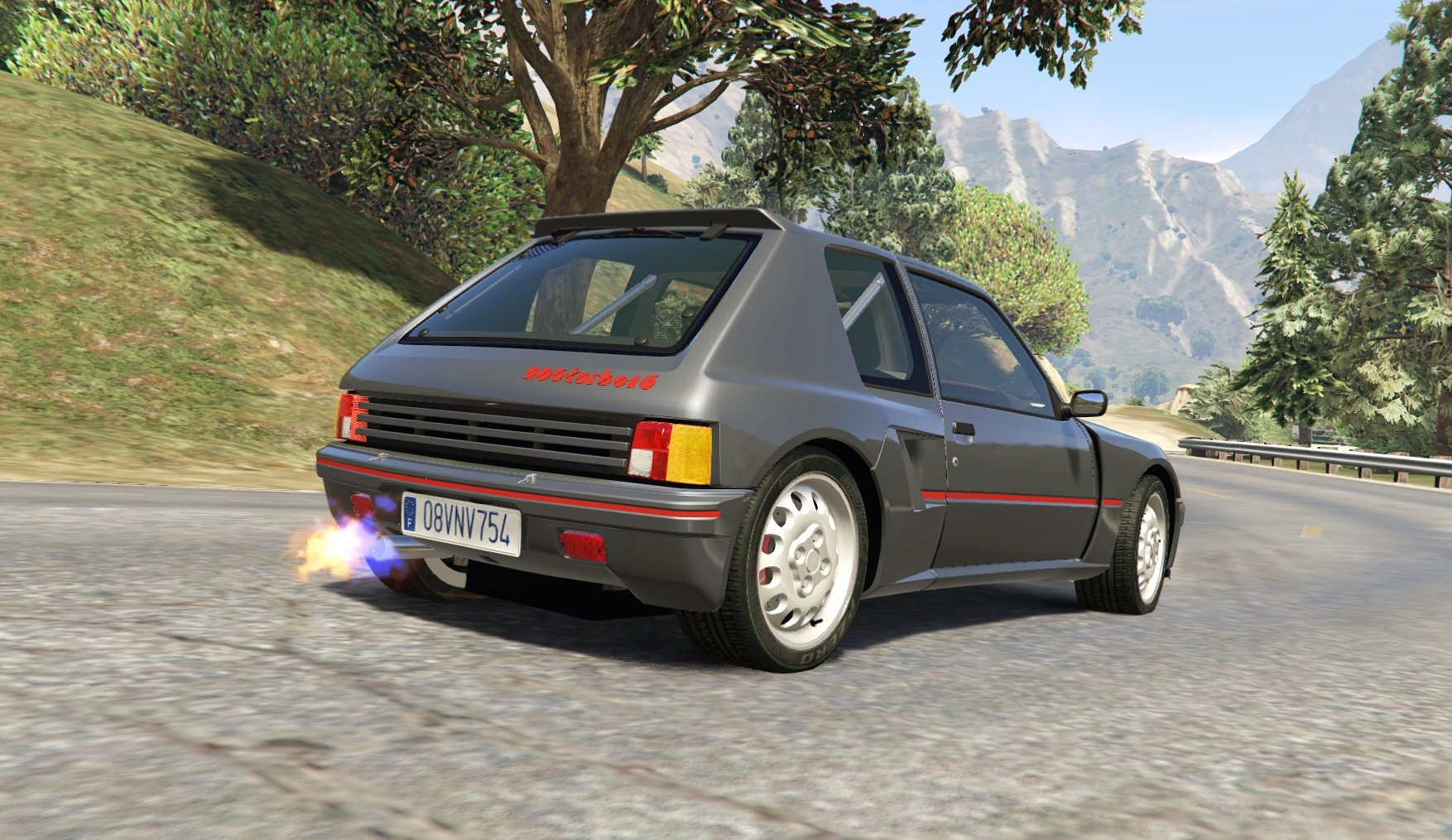 Peugeot 205 Turbo 16 & Rally (2in1) [Add-On | Tuning