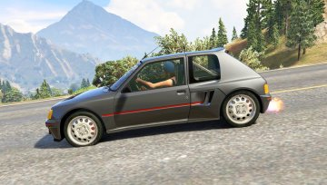 Peugeot 205 Turbo 16 & Rally (2in1) [Add-On | Tuning | Livery] - GTA5