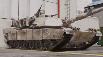 M1A1 Abrams Operation Desert Storm
