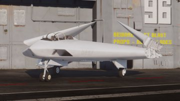 A-12A Avenger II Navy Stealth Bomber [Add-On] - GTA5