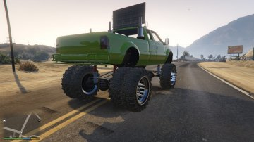 Sandking HD Monster Dually - GTA5