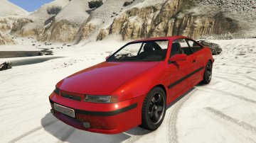 Opel Calibra GT [Add-On / Replace | Tuning]