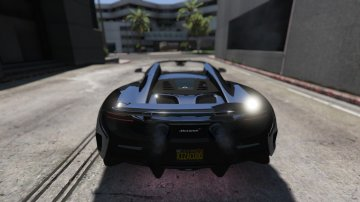 McLaren 675 LT Spider [Add-On / Replace] - GTA5