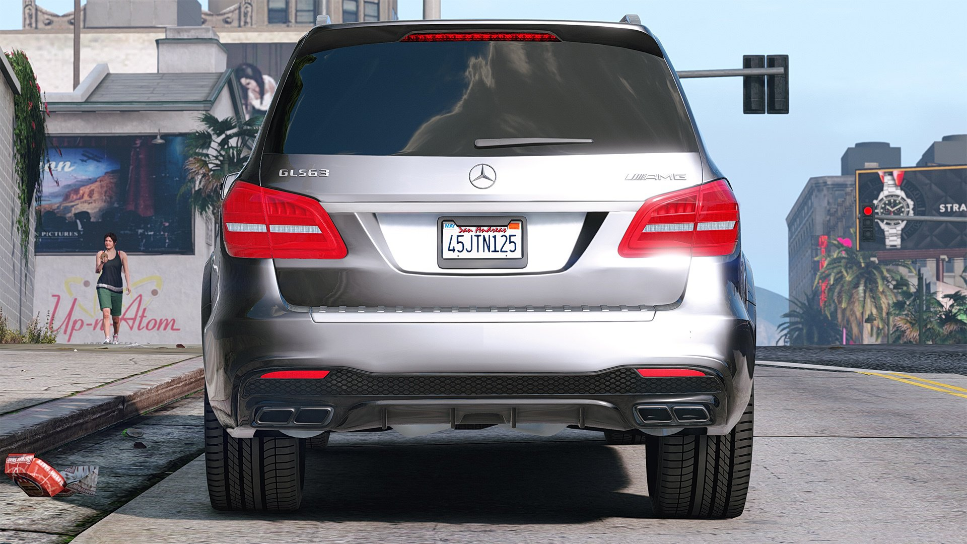 Mercedes Benz Gls >> Mercedes-Benz GLS 63 AMG 2015 [Add-On / Replace | Animated] - Vehicules pour GTA V sur GTA Modding