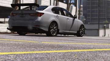 Lexus GS 350 [Add-On / Replace | Tuning | Template] - GTA5