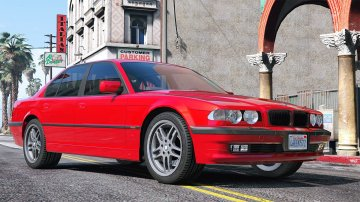 BMW 740i E38 Shadow Line [Add-On / Replace]
