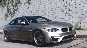 BMW M4 F82 2015 [Add-On / Replace | Animated]