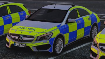 Mercedes-Benz Police (Pack) - GTA5
