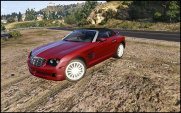 Chrysler Crossfire Roadster [Add-On / Replace]