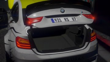 BMW M4 Series (F82) LB ☆ Works - GTA5