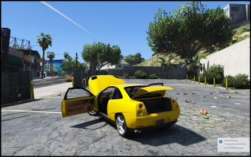 Fiat Coupe [Add-On / Replace] - GTA5