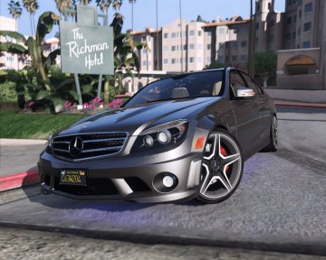 Mercedes-Benz C63 AMG W204 2014 [Add-On / Replace | Tuning | HQ]