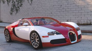 Bugatti Veyron 2009 [Add-On / Replace | Auto Spoiler | Animated]