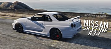 Nissan Skyline GTR R34 [Add-On]