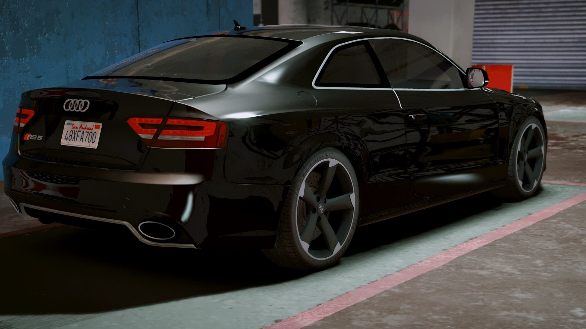Audi Rs5 2011 Add On Replace Vehicules Pour Gta V