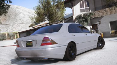 Mercedes-Benz S600 W220 [Add-On / Replace] - GTA5