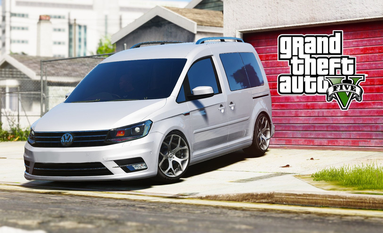 Volkswagen Caddy 2016 - GTA5