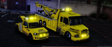 Scania Dutch Towtruck [Template] - GTA5