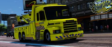 Scania Dutch Towtruck [Template]